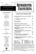 Refrigerating Engineering Book