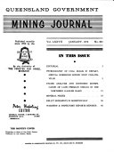 Queensland Government Mining Journal