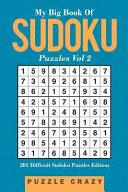 My Big Book Of Soduku Puzzles Vol 2