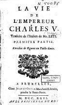 La vie de l'Empereur Charles V