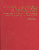 Research Methods in Psychology Book