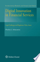 Digital Innovation in Financial Services Book