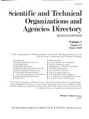 Scientific and Technical Organizations and Agencies Directory