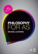 Philosophy for AS Pdf/ePub eBook