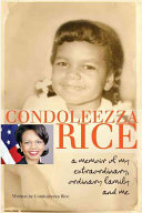 Condoleezza Rice Books, Condoleezza Rice poetry book