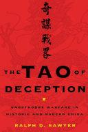 The Tao of Deception Pdf/ePub eBook