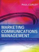 Marketing Communications Management