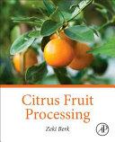 Citrus Fruit Processing