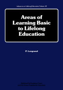Areas of Learning Basic to Lifelong Education