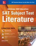 Mcgraw Hill Education Sat Subject Test Literature 3rd Ed