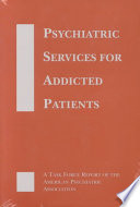 Psychiatric Services for Addicted Patients Book