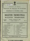 Quarterly Bulletin