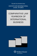 The Comparative Law Yearbook of International Business Pdf/ePub eBook