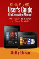 Kindle Fire HD User's Guide 5th Generation Manual
