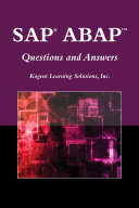 SAP   ABAPTM Questions and Answers