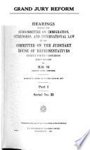 Grand Jury Reform