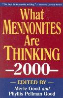 What Mennonites Are Thinking