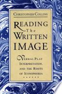 Reading the Written Image Pdf/ePub eBook