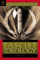 The Origins of Fascist Ideology  1918 1925 Book PDF