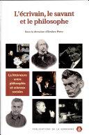 L'écrivain, le savant et le philosophe