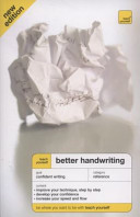 Teach Yourself Better Handwriting Third Edition