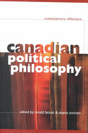 Canadian Political Philosophy Book