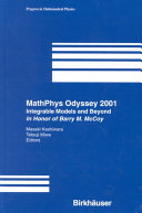 MathPhys Odyssey 2001