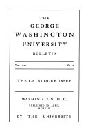Catalogue of the Columbian College in the District of Columbia Book
