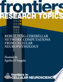 Rebuilding cerebellar network computations from cellular neurophysiology Book