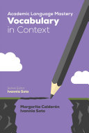 Academic Language Mastery  Vocabulary in Context