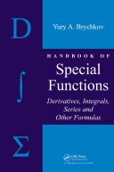 Pdf Handbook of Special Functions Telecharger