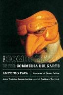 The Comic Mask in the Commedia Dell Arte