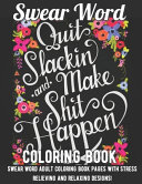 Swear Word Coloring Book