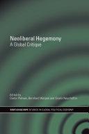 Pdf Neoliberal Hegemony