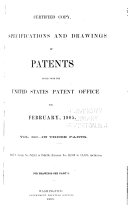 Pdf Specifications and Drawings of Patents Issued from the United States Patent Office for ...