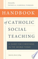 Handbook of Catholic Social Thought Book