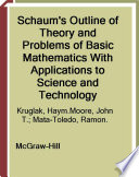 Schaum S Outline Of Basic Mathematics With Applications To Science And Technology