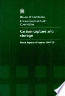 Carbon Capture And Storage Book PDF