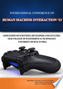 Proceedings Of International Conference On Human Machine Interaction 2013 Hmi 2013