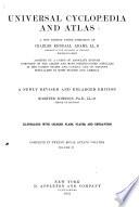 Universal Cyclopædia and Atlas