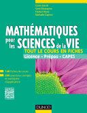 Pdf Mathématiques pour les sciences de la vie Telecharger