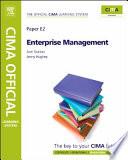 CIMA Official Learning System Enterprise Management