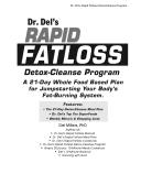 Dr  Del s Rapid Fatloss Detox Cleanse Program