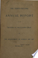 The ... Annual Report of the Trustees of the Cooper Union for the Advancement of Science and Art