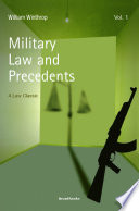 Military Law and Precedents