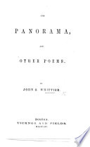 The Panorama  and Other Poems