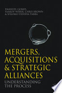 Mergers  Acquisitions and Strategic Alliances Book