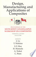 Design  Manufacturing and Applications of Composites Book