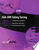 2009 ALA-APA Salary Survey