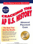 Cracking the AP U S  History